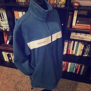 Columbia Blue Interchange Core Fleece Jacket